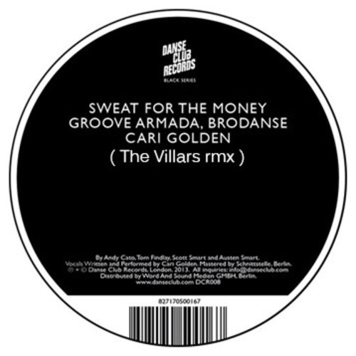 Groove Armada & Brodanse Feat. Cari Golden – Sweat (The Villars Remix)