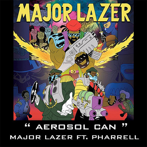 Major Lazer – Aerosol Can (feat. Pharrell Williams) (The Villars Remix)