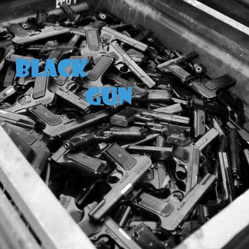 G R - Black gun